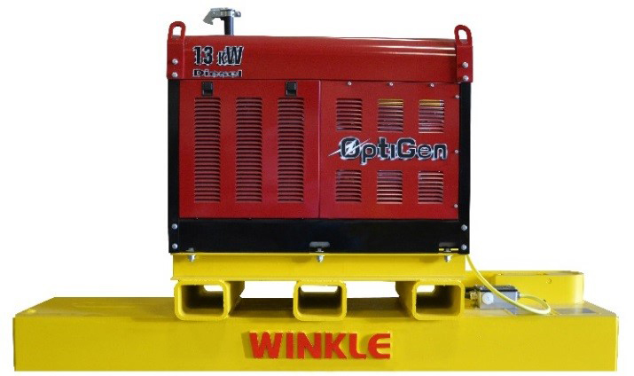 Road Sweeper Magnets RS-SW Series 1 - Genset with Road Sweeper Magnet1