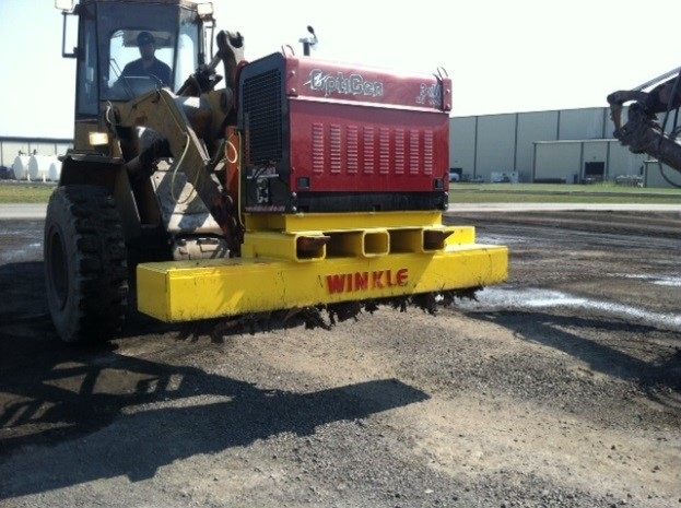 Road Sweeper Magnets RS-SW Series 2 - Working Shot